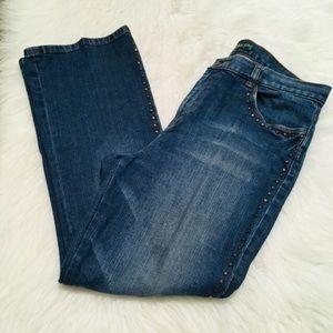 Ralph Lauren Petite Bootcut Jeans